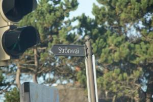 Eine quasi legendäre Straße - irgendwann werden wir nochmal zurückkehren, wenn mehr los ist