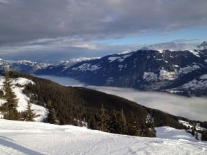 Das Zillertal im Nebel - toll!