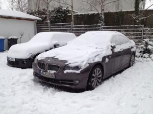 Themenbruch .. aber: Auch im Rhein Main Gebiet schneit es ab und an