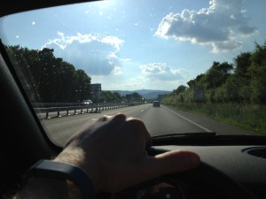 Fitbit Flex - auch beim Cabriofahren unauffällig zu tragen