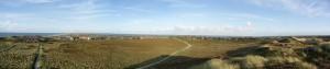Panoramablick von Uwe Düne (höchste Erhebung Sylts)