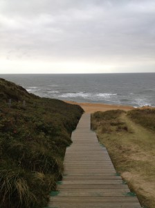 Auf dem Weg von Uwe Düne zum Meer