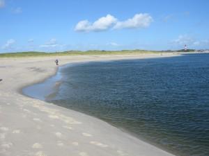 Die Sylter Küste von ihrer friedlichen Seite