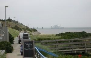 Verträumter Blick in Richtung Lister Hafen