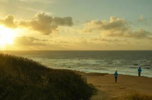 Ein perfekter Sonnenuntergang für einen perfekten Tag