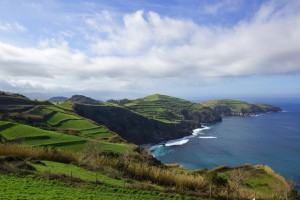 Bye bye, Azoren - die nasse Insel mitten im Atlantik ;-)
