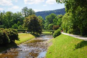 Ja, Baden-Baden ist wirklich eine schöne Ecke - insbesondere bei so tollem Wetter