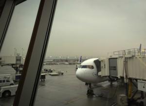 Las Vegas, 14:00 Uhr, der Himmel grau, das Haar sitzt