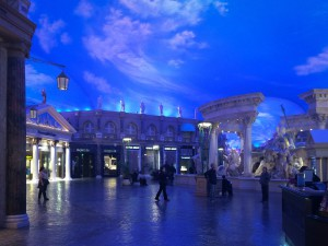 Abendstimmung (nachmittags) im Caesars