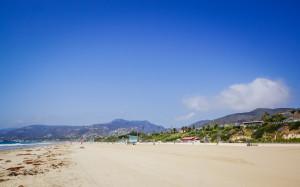 Das ist Malibu, etwas nördlich von LA. Auch ein schöner Ort um das Meer zu genießen..