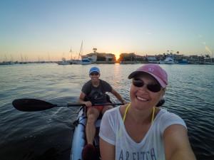 Trotz eines langen Tages herrscht offensichtlich beste Stimmung im Boot ;-)